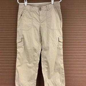 DKNY summer cropped cargo pants